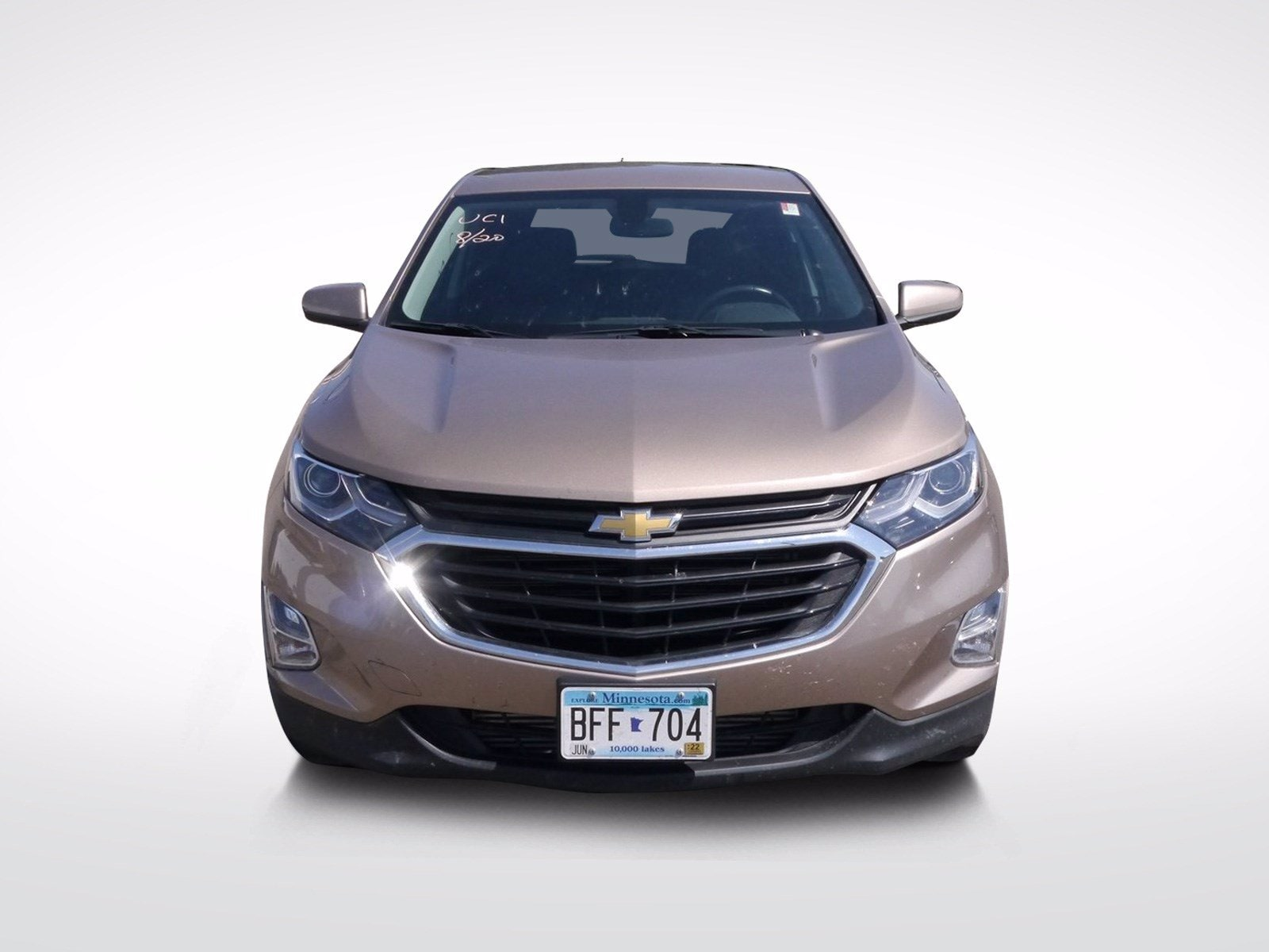 Used 2018 Chevrolet Equinox LT with VIN 3GNAXSEV6JL408126 for sale in Baxter, Minnesota