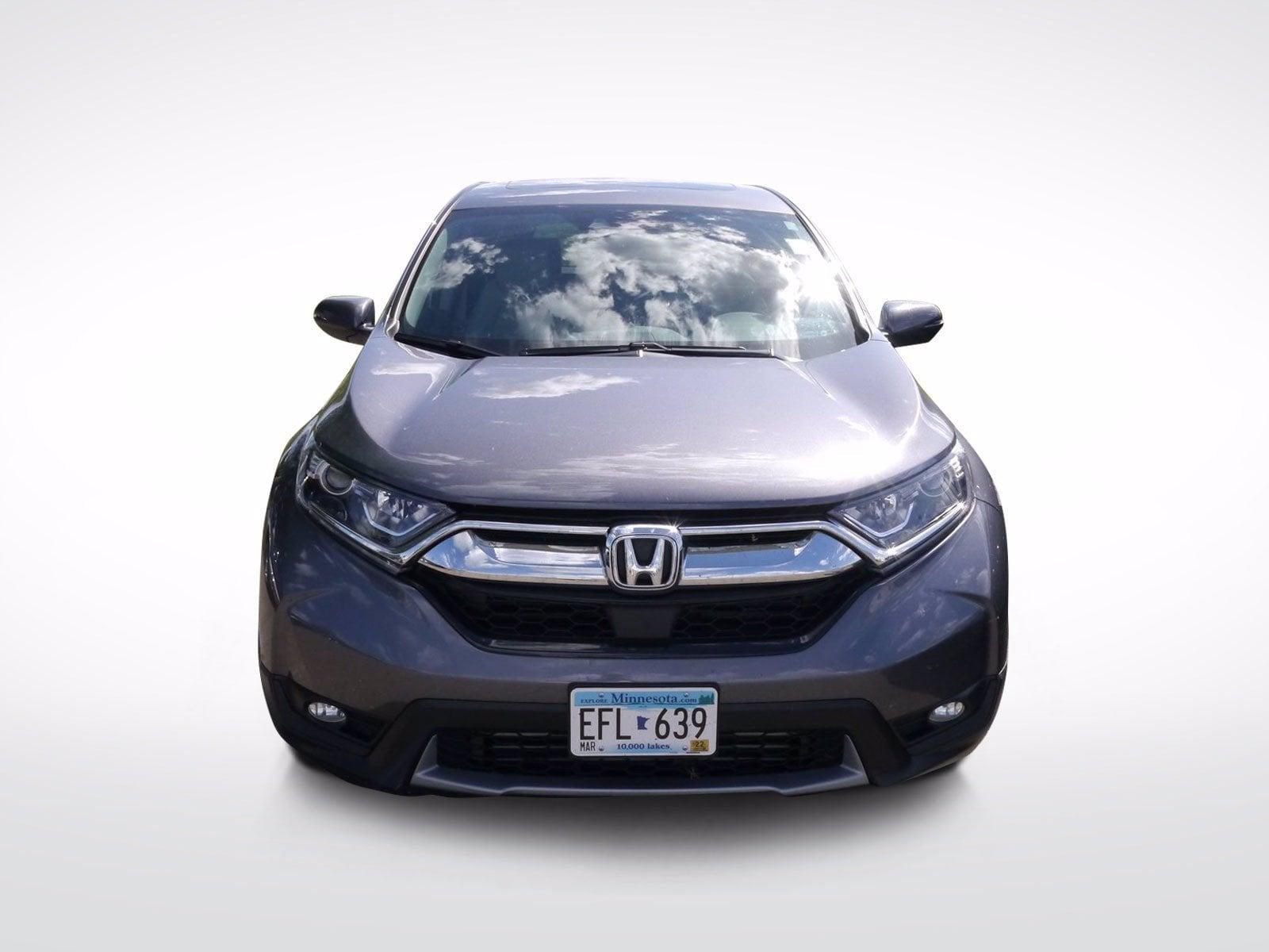 Used 2019 Honda CR-V EX-L with VIN 5J6RW2H80KL037542 for sale in Baxter, Minnesota