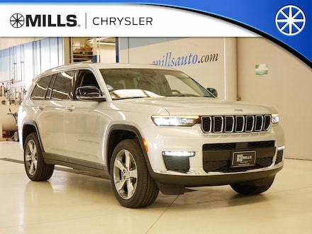 2021 Jeep Grand Cherokee L LIMITED 4X4 Sport Utility for sale in Willmar, MN