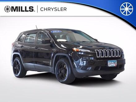2015 Jeep Cherokee Sport 4x4 SUV for sale in Willmar, MN