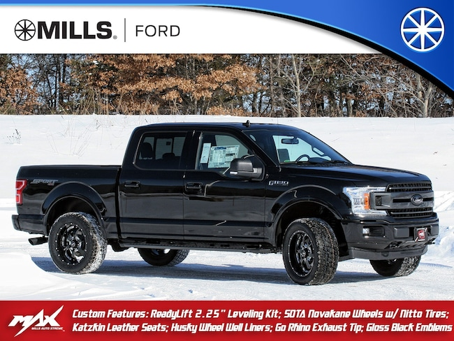 New 2019 Ford F-150 CUSTOM XLT 4WD SuperCrew 5.5 Box CUSTOM XLT 4WD SuperCrew 5.5 Box in Baxter, MN