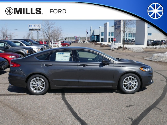 New 2019 Ford Fusion SE FWD SE FWD in Baxter, MN
