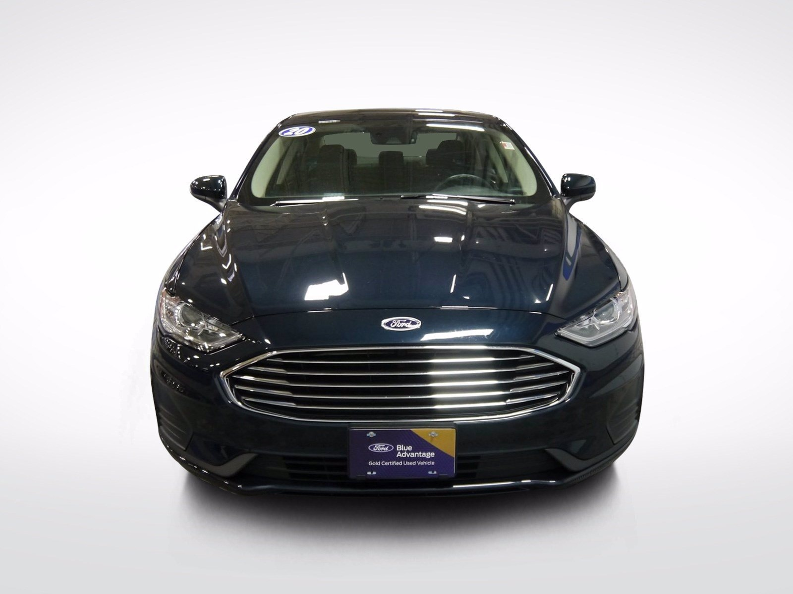 Certified 2020 Ford Fusion SE with VIN 3FA6P0T98LR170584 for sale in Baxter, Minnesota