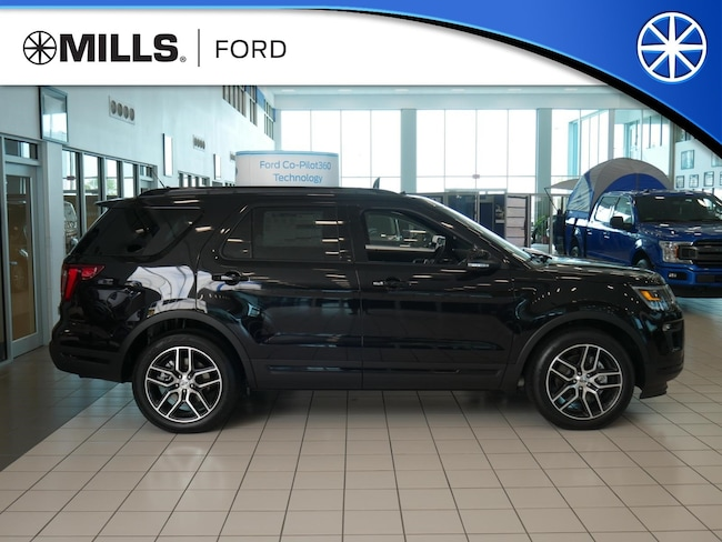 New 2019 Ford Explorer Sport 4WD Sport 4WD in Baxter, MN