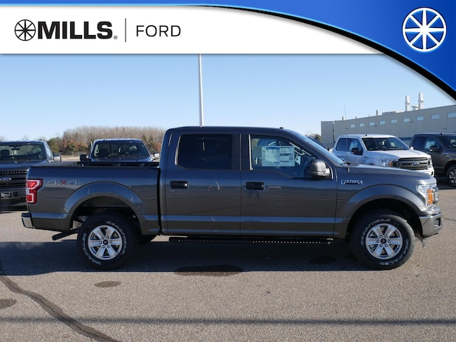 New 2019 Ford F-150 XL 4WD SuperCrew 5.5 Box XL 4WD SuperCrew 5.5 Box in Baxter, MN