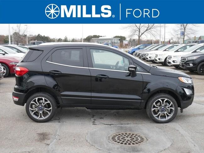 New 2018 Ford EcoSport Titanium 4WD Titanium 4WD in Baxter, MN