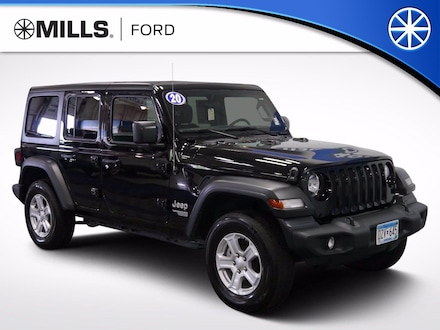 Used 2020 Jeep Wrangler Unlimited Sport S 4x4 Sport S 4x4 for sale in Baxter, MN