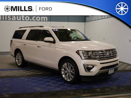 Used 2018 Ford Expedition Max Limited 4x4 EcoBoost Limited 4x4 for sale in Baxter, MN