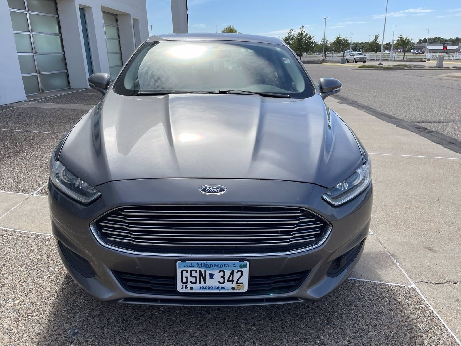 Used 2014 Ford Fusion SE with VIN 3FA6P0H76ER356117 for sale in Baxter, Minnesota