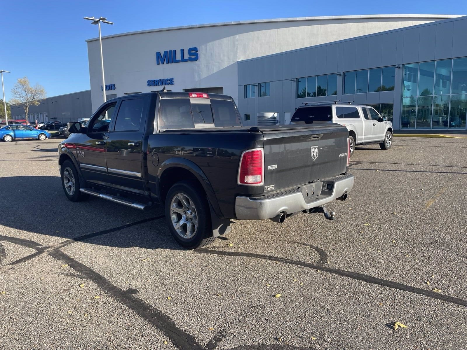 Used 2014 RAM Ram 1500 Pickup Laramie with VIN 1C6RR7NT4ES347388 for sale in Baxter, Minnesota