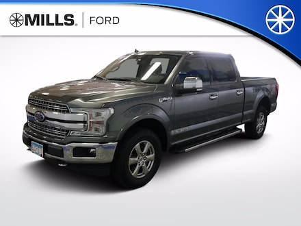 Used 2018 Ford F-150 LARIAT 4WD SuperCrew 6.5 Box LARIAT 4WD SuperCrew 6.5 Box for sale in Baxter, MN