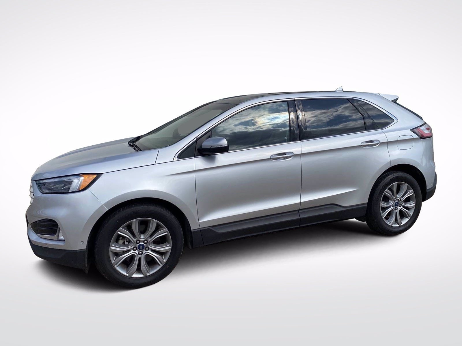 Used 2019 Ford Edge Titanium with VIN 2FMPK4K97KBB88914 for sale in Baxter, Minnesota