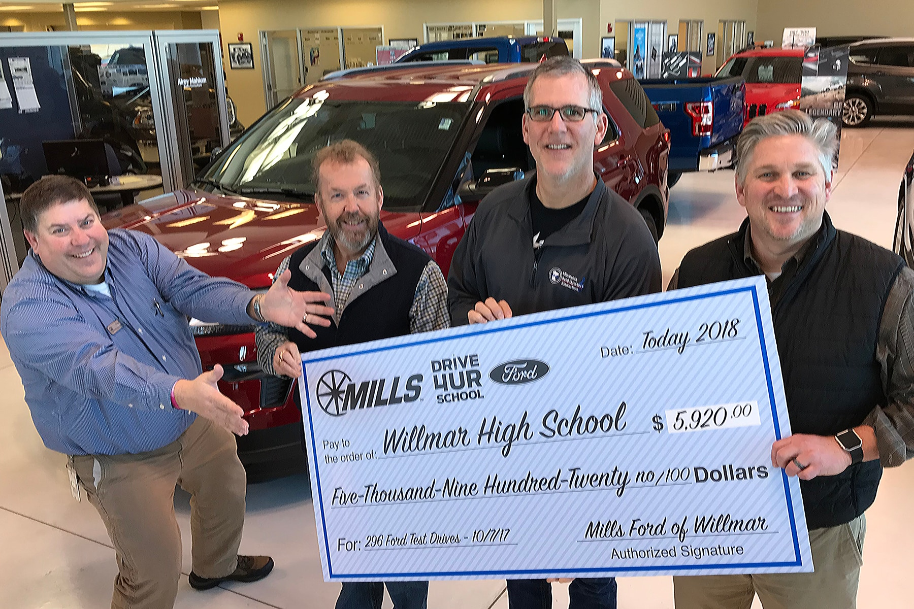 Mills Ford Willmar >> Our Community Mills Automotive Group