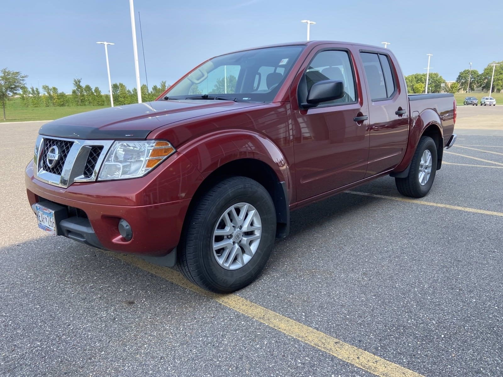 Used 2019 Nissan Frontier SV with VIN 1N6AD0EV7KN750401 for sale in Willmar, Minnesota