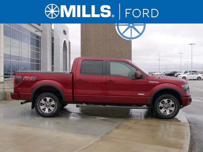2013 Ford F-150 4WD SuperCrew 145 FX4 4WD SuperCrew 145 FX4