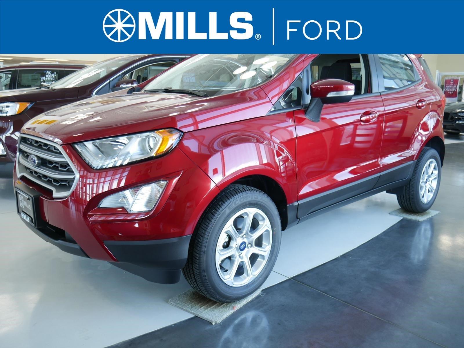 2018 Ford EcoSport SE 4WD SE 4WD