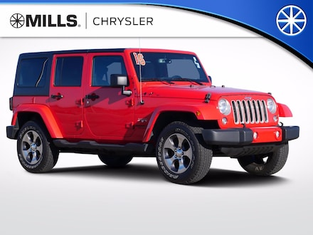 2016 Jeep Wrangler Unlimited 4WD 4dr Sahara 4WD  Sahara