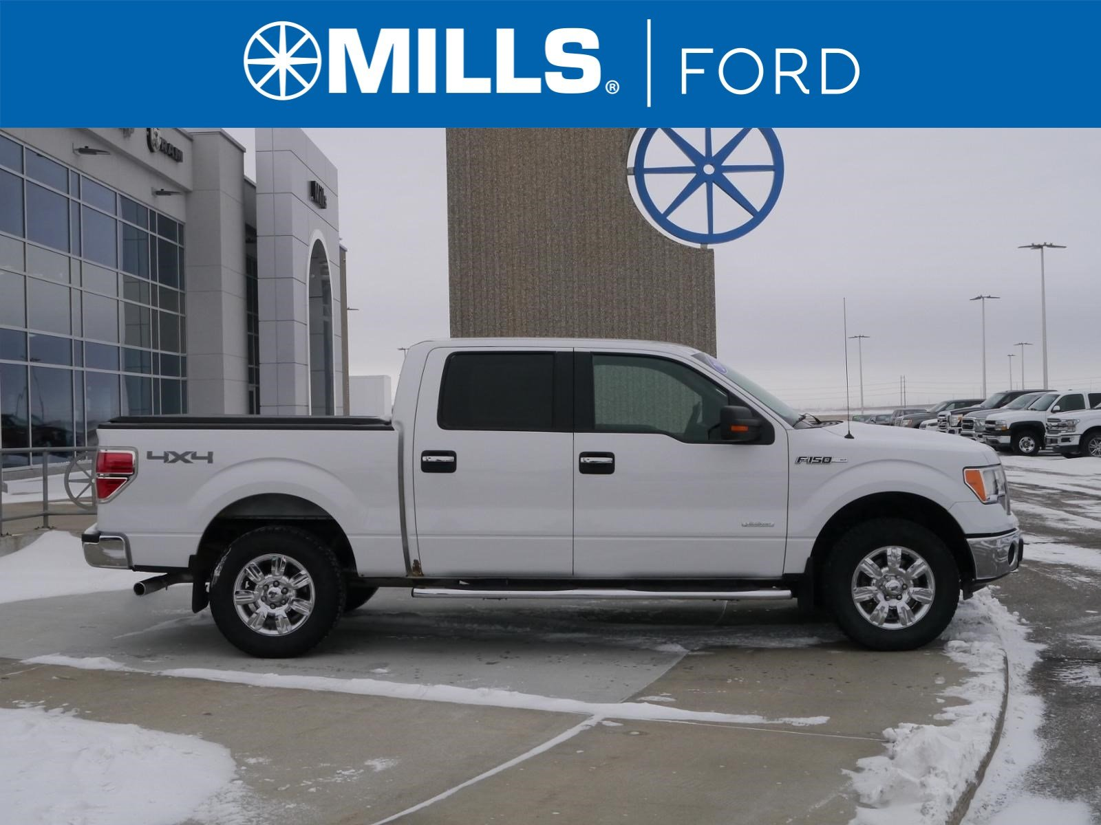 2011 Ford F-150 4WD SuperCrew 145 XLT 4WD SuperCrew 145 XLT