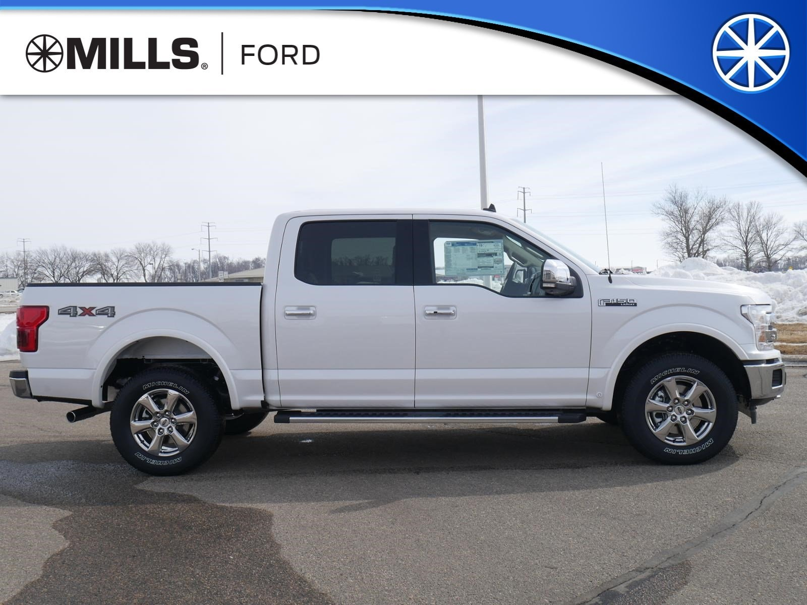 2019 Ford F-150 LARIAT 4WD SuperCrew 5.5 Box