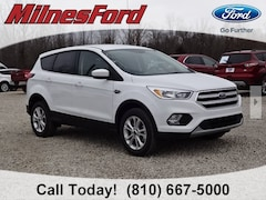 New 2019 Ford Escape SE SUV 1FMCU9GD2KUA70587 for sale in Imlay City