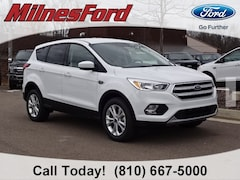 New 2019 Ford Escape SE SUV 1FMCU9GD2KUA62165 for sale in Imlay City