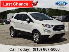 New 2018 Ford EcoSport SE SUV MAJ6P1UL4JC214575 for sale in Imlay City