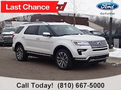 New 2019 Ford Explorer Platinum SUV 1FM5K8HTXKGA71127 for sale in Imlay City