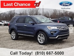 New 2019 Ford Explorer Limited SUV 1FM5K8F8XKGA71126 for sale in Imlay City