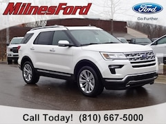 New 2019 Ford Explorer Limited SUV 1FM5K8F89KGB06190 for sale in Imlay City