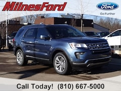 New 2019 Ford Explorer Limited SUV 1FM5K8F81KGA87568 for sale in Imlay City