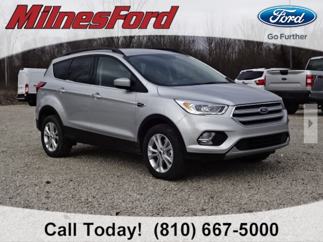 New 2019 Ford Escape SEL SUV for sale in Lapeer