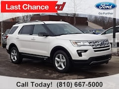 New 2019 Ford Explorer XLT SUV for sale in Imlay City