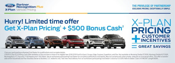 Ford X Plan Pricing >> X Plan Milnes Ford Inc