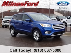 New 2019 Ford Escape SE SUV 1FMCU0GD2KUA99065 for sale in Imlay City