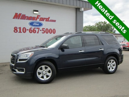 Featured Used 2015 GMC Acadia SLE-2 SUV for Sale in Lapeer, MI