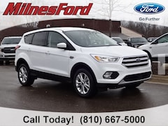 New 2019 Ford Escape SE SUV 1FMCU9GD5KUA78537 for sale in Imlay City