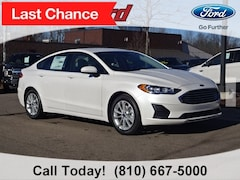 New 2019 Ford Fusion SE Sedan for sale in Imlay City