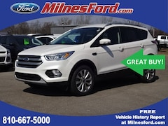 Certified Pre-Owned 2017 Ford Escape Titanium SUV 1FMCU9J94HUC94554 for Sale in Lapeer