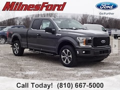 New 2019 Ford F-150 STX Truck SuperCab Styleside 1FTEX1EP1KFA34509 for sale in Imlay City