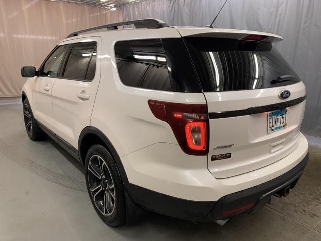 Used 2015 Ford Explorer Sport with VIN 1FM5K8GT3FGB33801 for sale in Kenyon, Minnesota