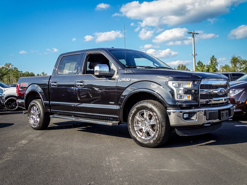 2015 Ford F-150 XLT 4x4 SuperCrew Cab Styleside 6.5 ft. box 157 in Truck SuperCrew Cab