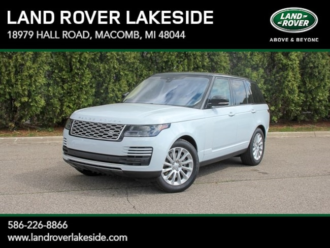 New 2019 Land Rover Range Rover HSE SUV in Macomb, MI