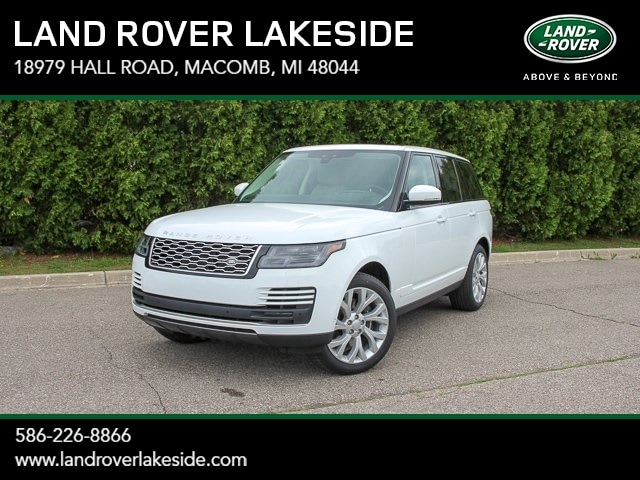 Featured New 2019 Land Rover Range Rover HSE SUV for sale in Macomb, MI