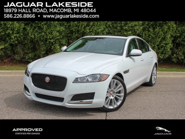 Pre-Owned 2018 Jaguar XF 25t Prestige Sedan in Macomb, MI