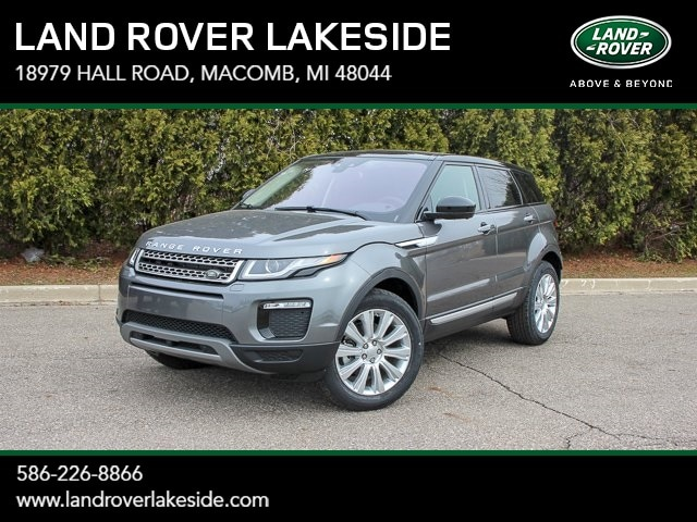 Featured New 2019 Land Rover Range Rover Evoque HSE SUV for sale in Macomb, MI