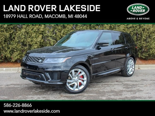 New 2019 Land Rover Range Rover Sport Supercharged Dynamic SUV in Macomb, MI