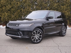 New 2021 Land Rover Range Rover Sport HSE SUV in Macomb, MI