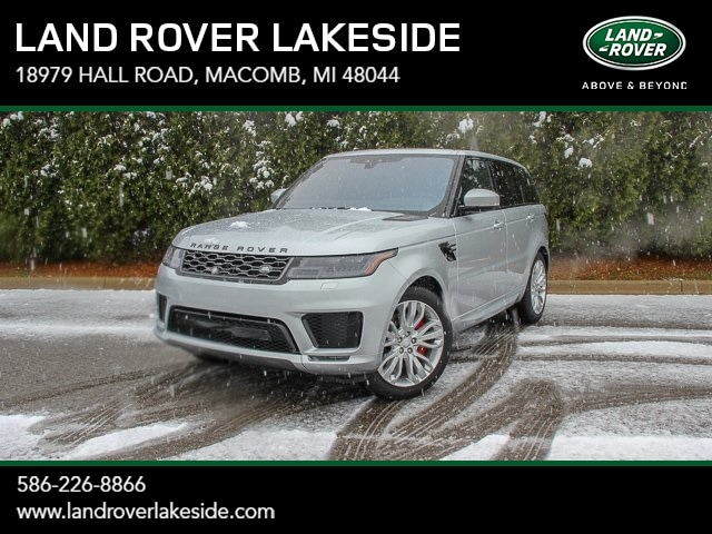 Featured New 2019 Land Rover Range Rover Sport Supercharged Dynamic SUV for sale in Macomb, MI