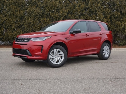 Featured Pre-Owned 2020 Land Rover Discovery Sport S R-Dynamic SUV for sale in Macomb, MI