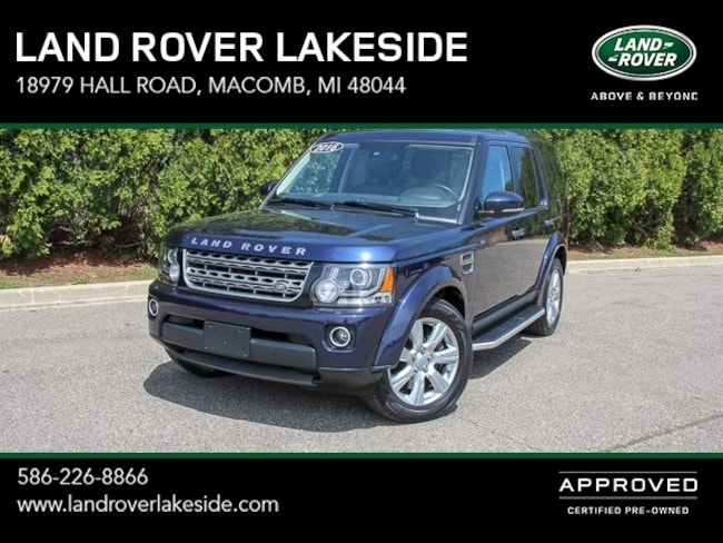 Pre-Owned 2016 Land Rover LR4 SUV in Macomb, MI